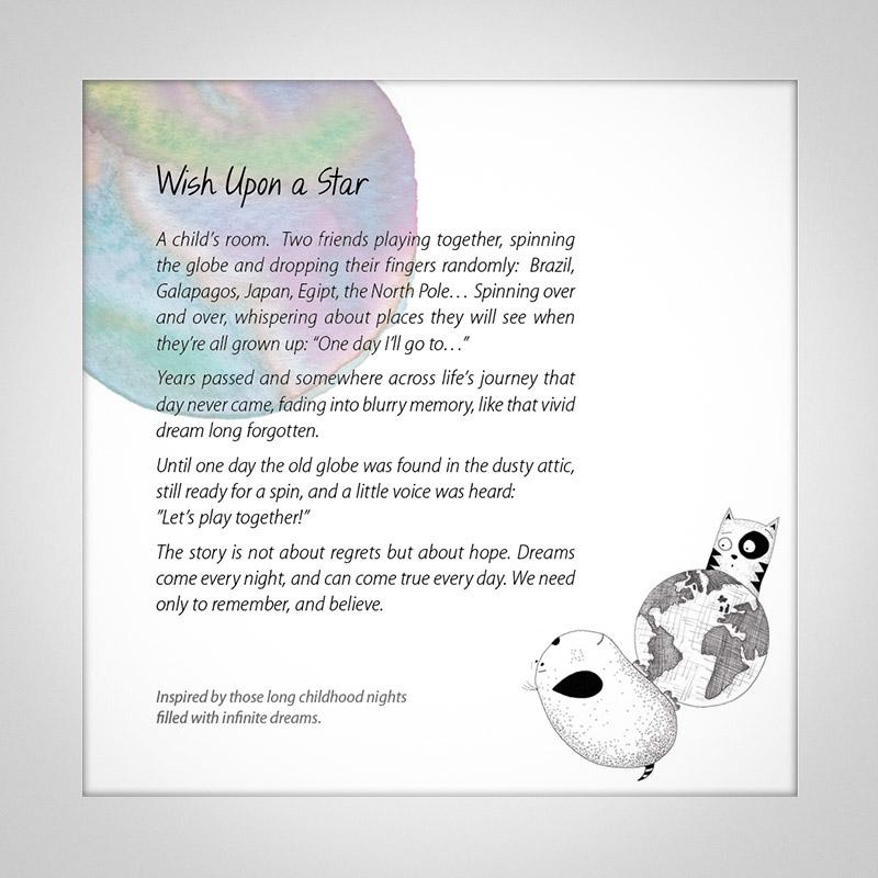Wish Upon a Star (M10-BK-KB189-94356)