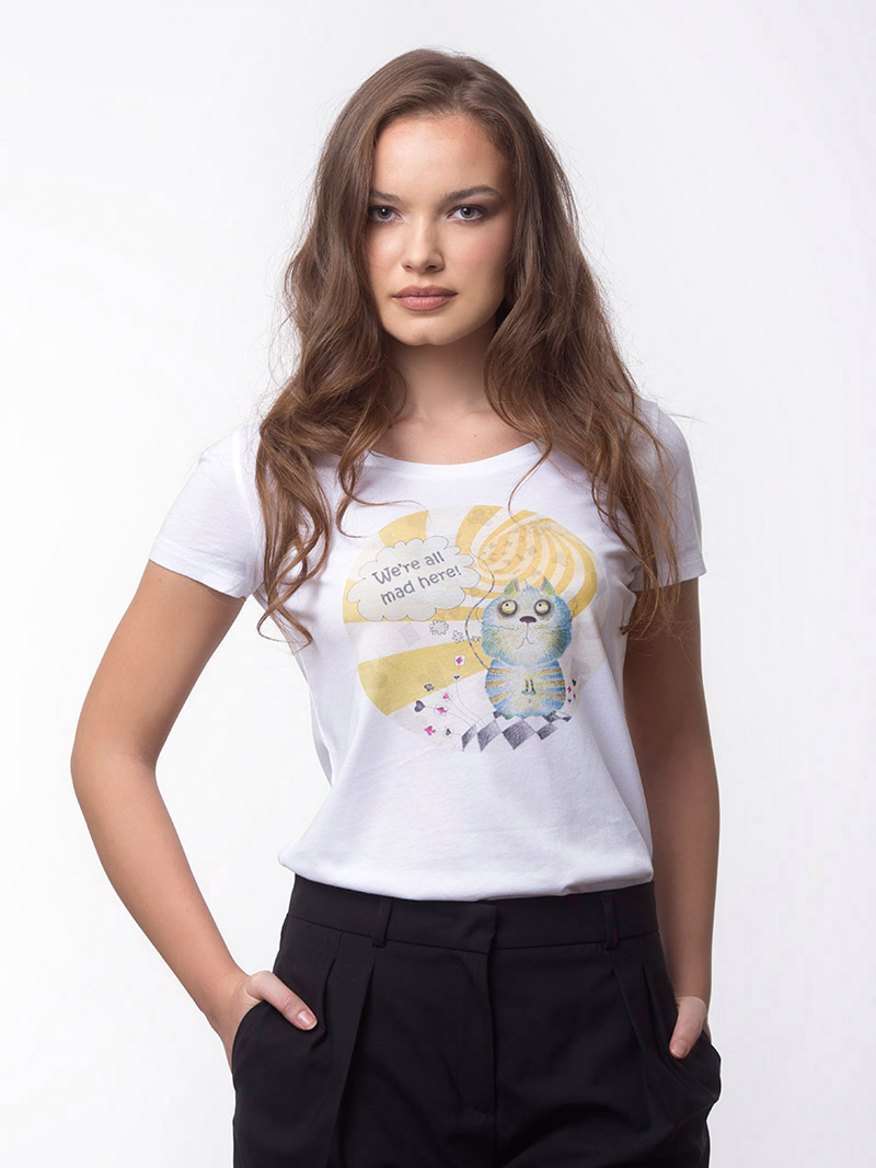 MAD CAT T-SHIRT (T4-206C001)