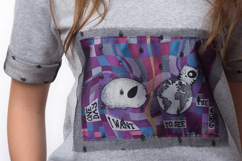WISHES SWEATSHIRT (T14-053C250)