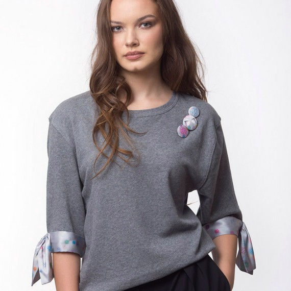LOVE MOLECULES SWEATSHIRT (T17-138C650)
