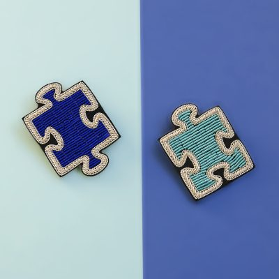 PUZZLE BROOCH SET