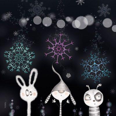 Snowflakes Quarrel (M11-BL-KB189-94357)