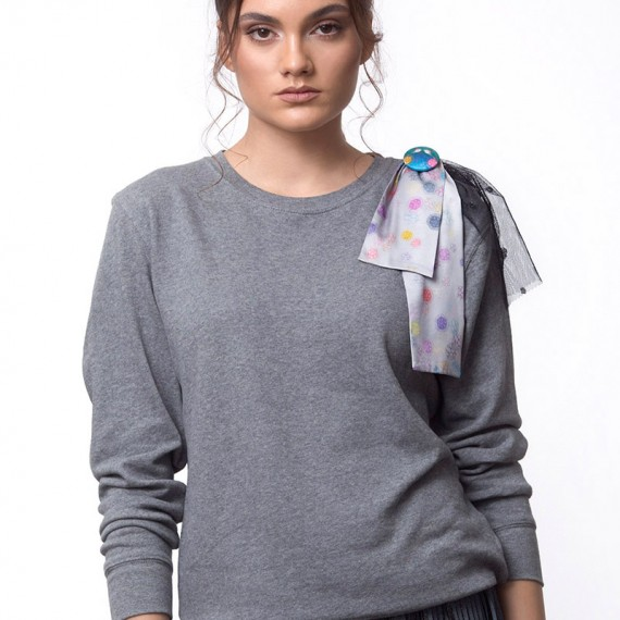 MOLECULES BOW SWEATSHIRT (T18-138C650)