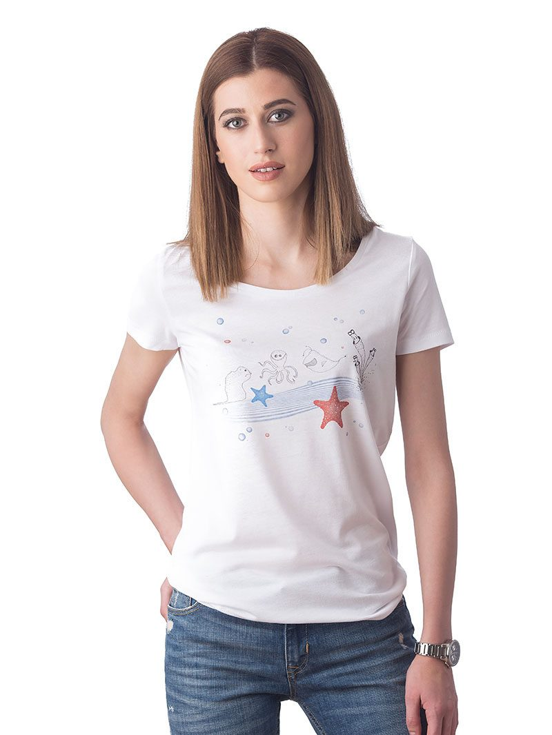 SEA MONSTERS T-SHIRT (T20-206C001)