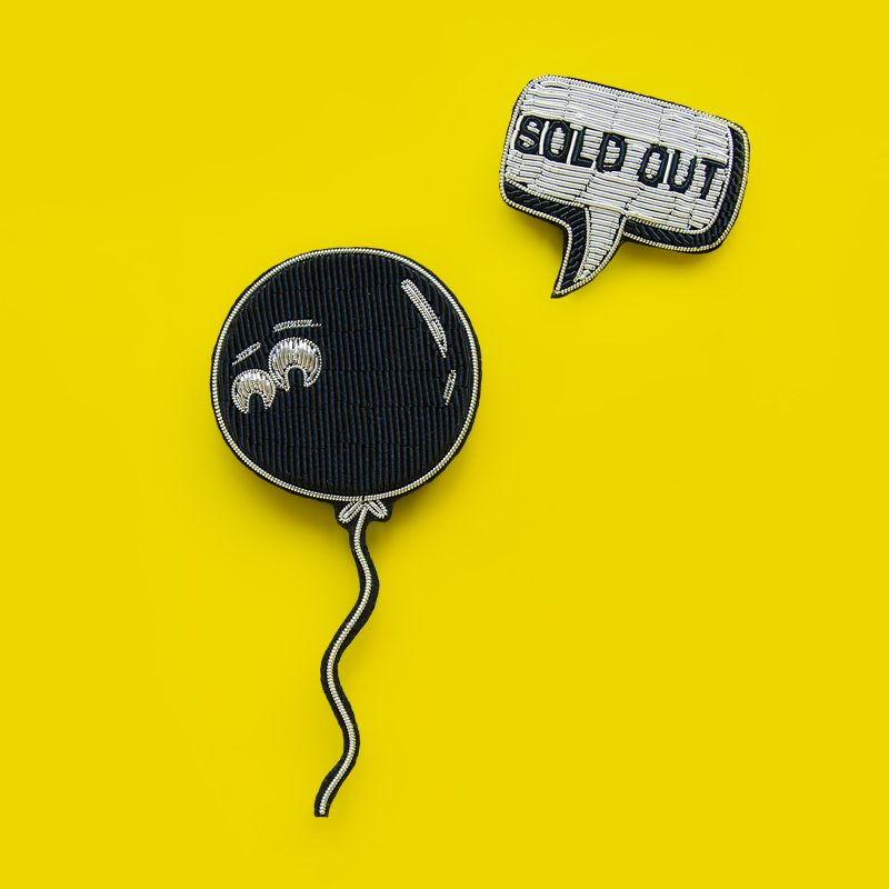Balloon & Sold out Brooch Set