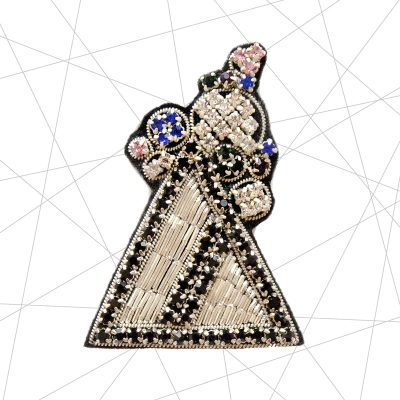 Bermuda Triangle Brooch