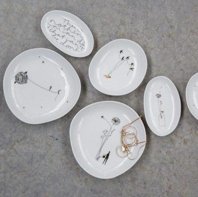 Wonderland Bowl Set Silver